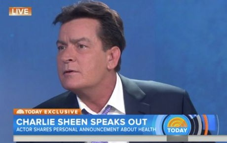Charlie Sheen confirma que es VIH positivo