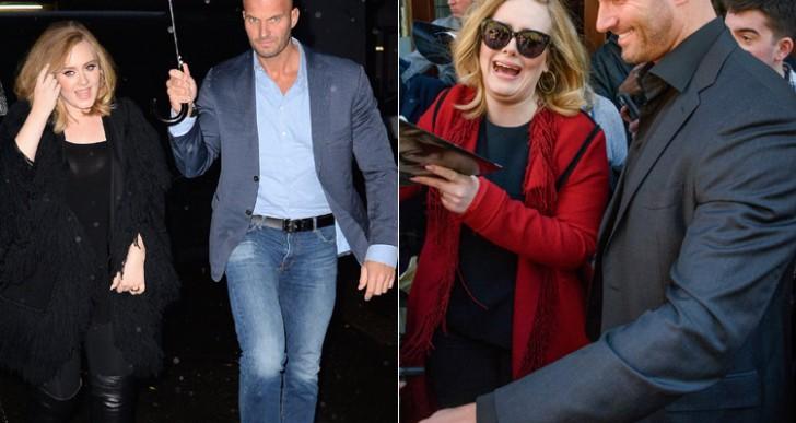 Las fans de Adele están perdiendo la razón por su nuevo guardaespaldas.