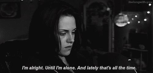 Jamás volveré a estar sola, de eso me encargo yo