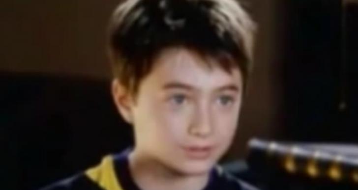 Mira a Daniel Radcliffe de pequeño audicionando para Harry Potter