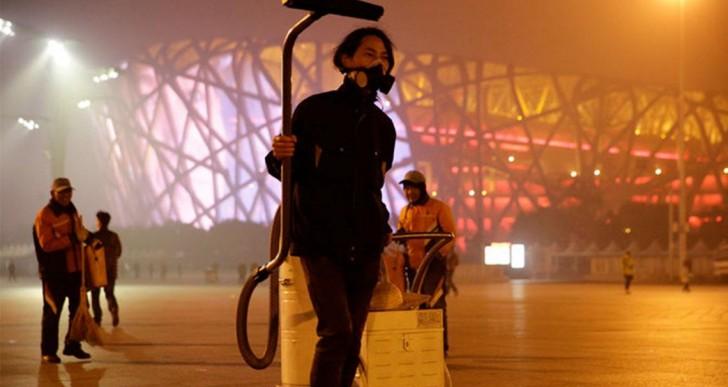 Este artista hizo un ladrillo con el aire contaminado de Beijing