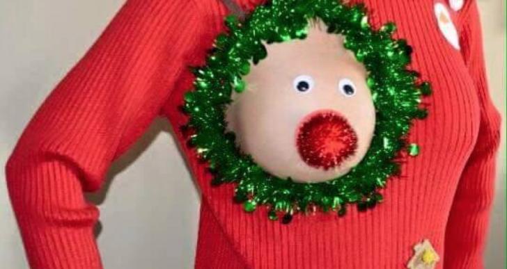 Este es el suéter navideño más feo que verás en tu vida