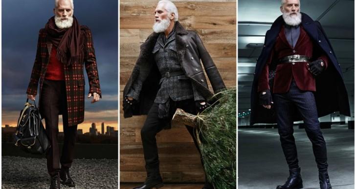 El Santa de la moda existe y viene a llenar nuestra Navidad de estilo