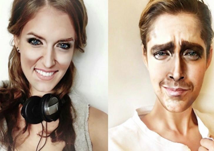 Esta chica se transforma en cualquier celebridad gracias a sus habilidades de maquillaje