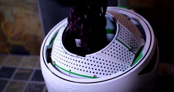 Lava tu ropa sin electricidad con Drumi
