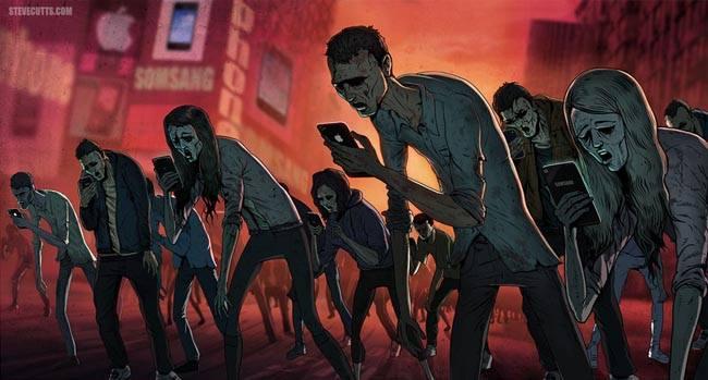 Escalofriantes ilustraciones que exponen la verdad acerca de la sociedad moderna