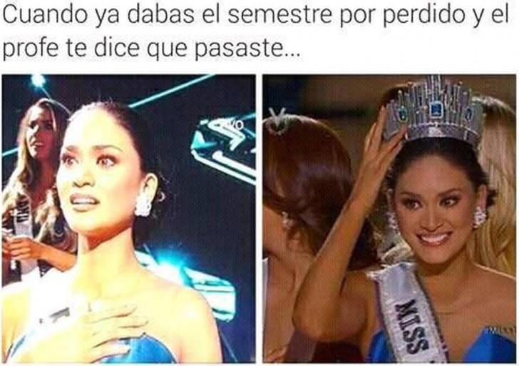 Los mejores memes del error de Miss Universo 2015