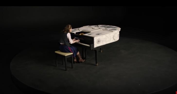 Esta pianista compone un increíble popurrí para Star Wars
