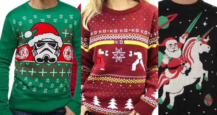 10 suéteres geniales que le hacen falta a tu Navidad
