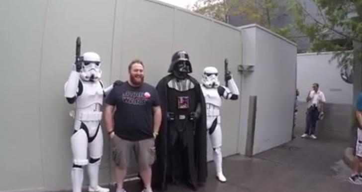 ¿Qué harías si Darth Vader te dijera que vas a ser padre?