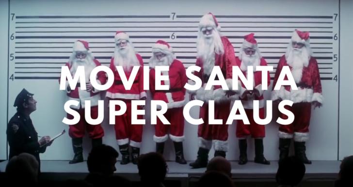 Mira la larga carrera en el cine de Santa Claus