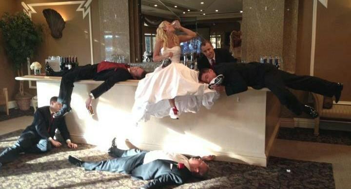 7 personajes básicos en todas las bodas