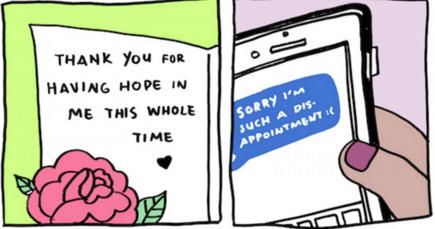 En vez de pedir perdón, da las gracias