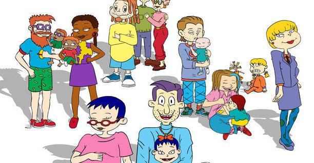 Los Rugrats crecieron para convertirse en padres