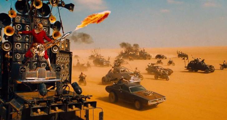 Mad Max: Fury Road es una película comprensible aún a 12 veces su velocidad
