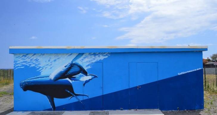 Artistas llenaron de murales este vecindario isleño