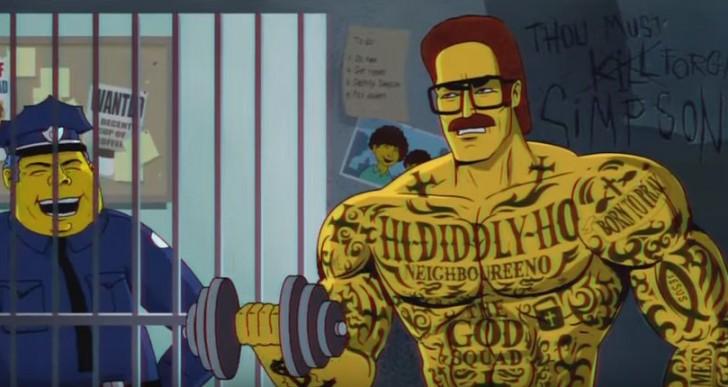 Los Simpson y Miami Vice se unen para esta secuencia de intro