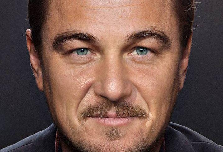 Una extraña mezcla de celebridades en un mismo rostro