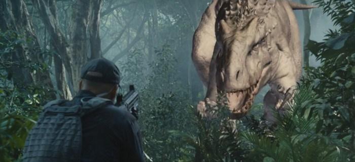 Mira cómo se crea un dinosaurio con efectos digitales