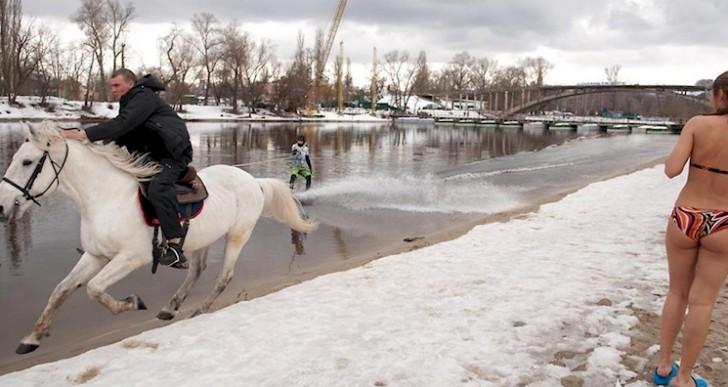 Esto es un típico invierno en Rusia