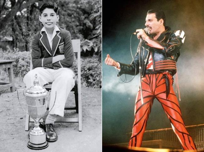 No te imaginas cómo se veían estas estrellas de rock en su infancia