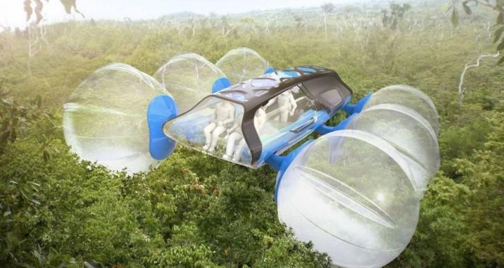 Este vehículo podrá viajar por arriba de los árboles
