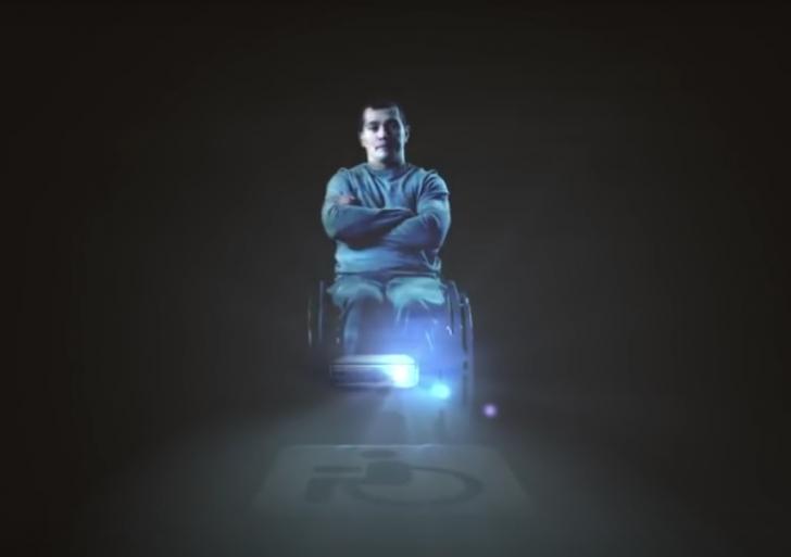 Este holograma te hará sentir como un patán
