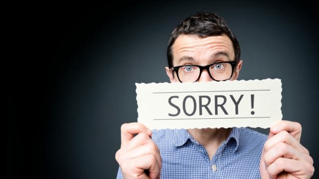 5 cosas por las que deberías dejar de disculparte