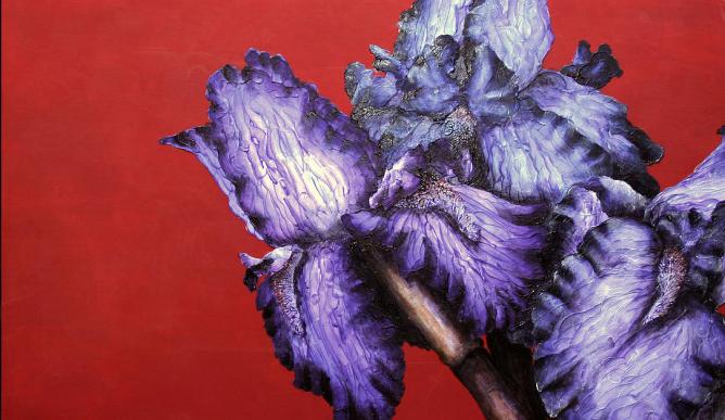 Las bellas y coloridas pinturas de Michelle Staton