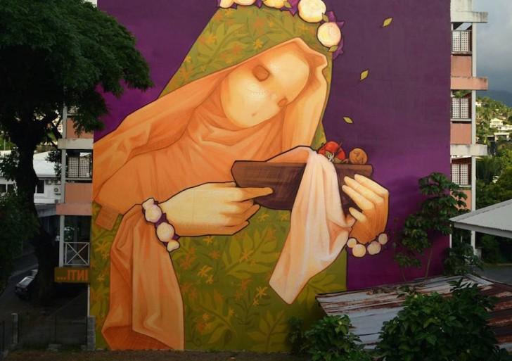 Tienes que ver estos enormes y coloridos murales hechos por INTI