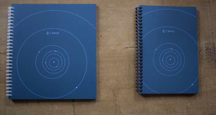 Esta libreta y pluma son el futuro para tus apuntes