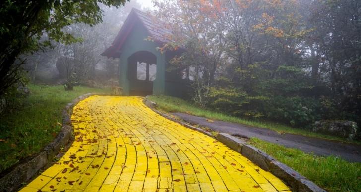 Te dará escalofríos este parque abandonado del Mago de Oz