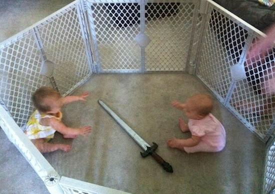 Estas niñeras probablemente nunca deberían de tener sus propios hijos