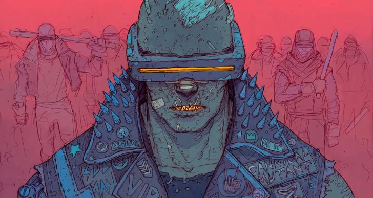 Este es el futuro cyberpunk distópico de Josan González