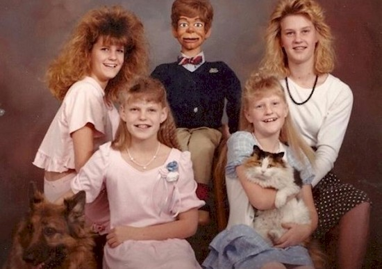 16 fotos familiares extremadamente incómodas