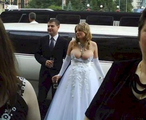 Sólo estas mujeres se atreverían a usar estos vestidos de novia