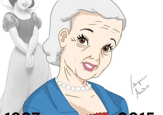 Así se verían las princesas de Disney hoy si envejecieran