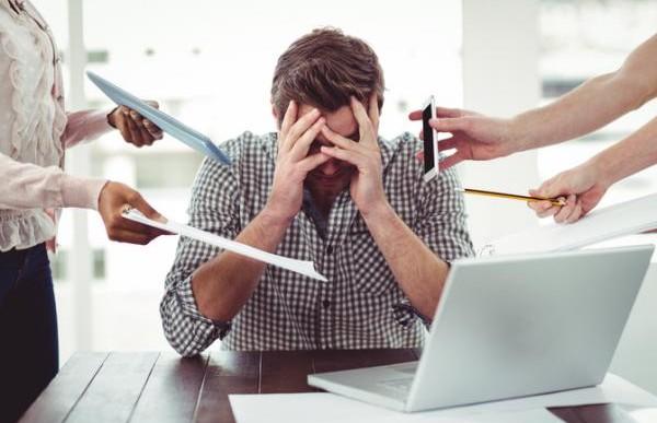 8 maneras de vencer el estrés en el trabajo