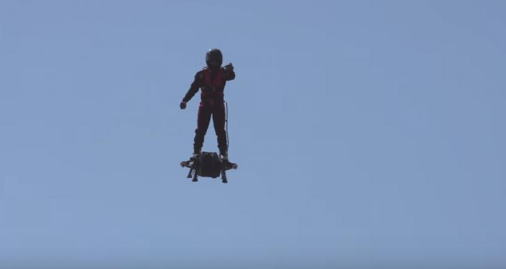 ¿Para qué quieres una Hoverboard si algún día podrás usar una Flyboard?