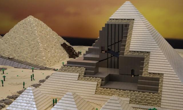 Edificios famosos recreados a gran escala de Lego
