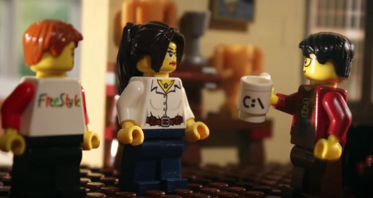 La historia romántica de esta pareja contada con Legos