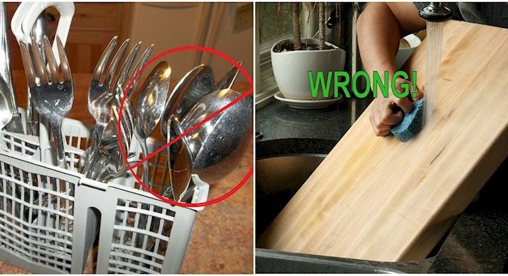 12 maneras en las que has limpiado mal tu cocina