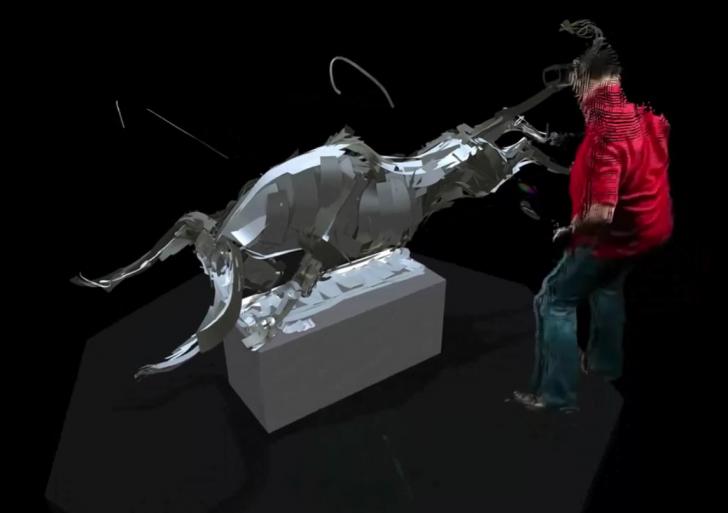 Mira a estos seis artistas pintar con realidad virtual