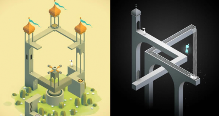 Escher inspira Monument Valley, un juego sin fin