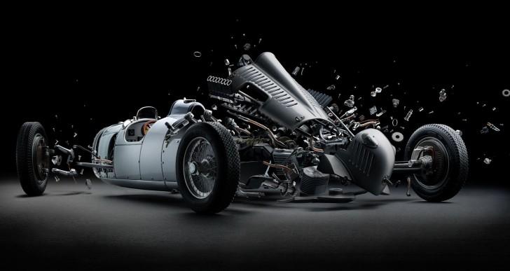 Este artista crea imágenes de coches explotando sin dañar un auto
