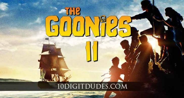 Confirman que pronto habrá una secuela para Los Goonies