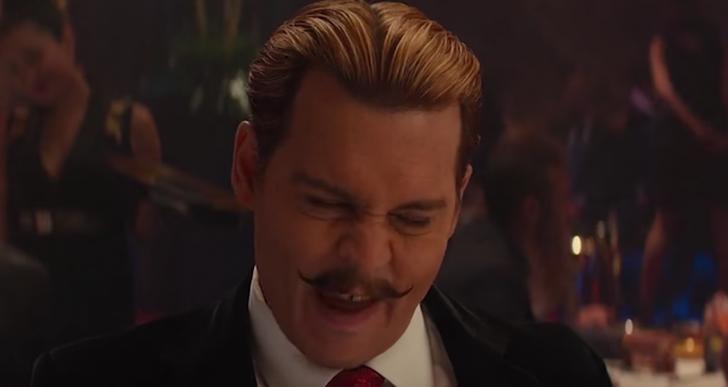 Los ruidos extraños que hace Johnny Depp en el cine