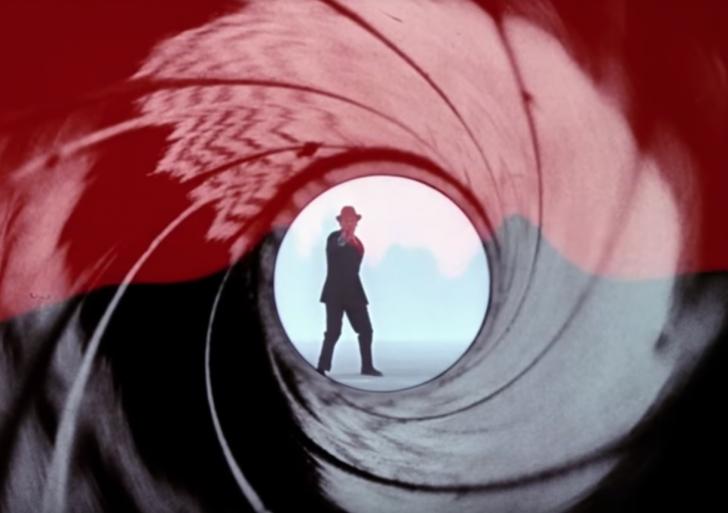 Todos los disparos del intro de las películas de 007