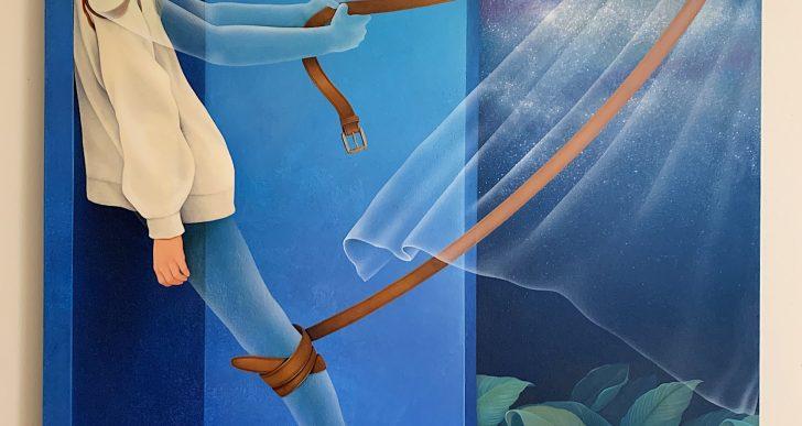 Pinturas meditativas por Arghavan Khosravi hablan sobre los derechos humanos
