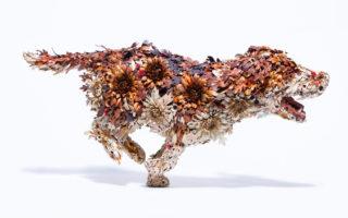 Las delicadas esculturas de metal de Taiichiro Yoshida